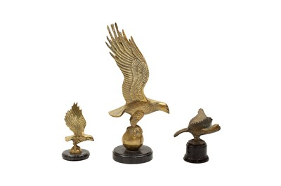Lot 116 - Three Eagle Accessory Mascots