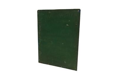 Lot 120 - Wall-Mounted Castrol Lubrication Chart Garage Display Board