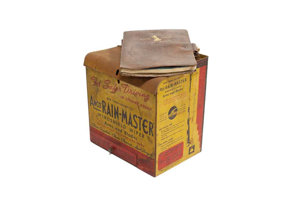 Lot 121 - 'Anco Rain Master' Windshield Wipers Garage Counter Display