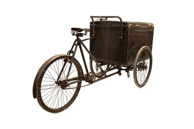 Lot 127 - An Unusual Solid-Tyre Delivery Tricycle