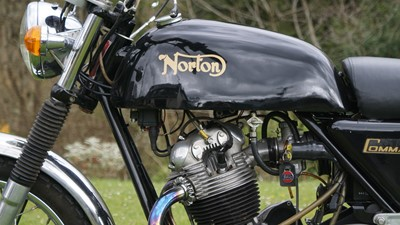 Lot 204 - 1972 Norton Commando LR