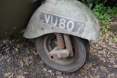 Lot 24 - 1951 Vespa Douglas 125