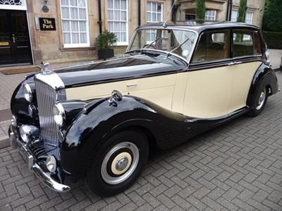 Lot 84 - 1950 Bentley MKVI Saloon