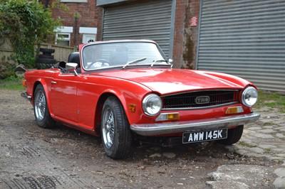 Lot 33 - 1971 Triumph TR6