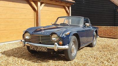 Lot 45 - 1966 Triumph TR4A IRS