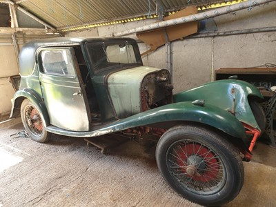 Lot 65 - 1934 Lagonda Rapier Coupe