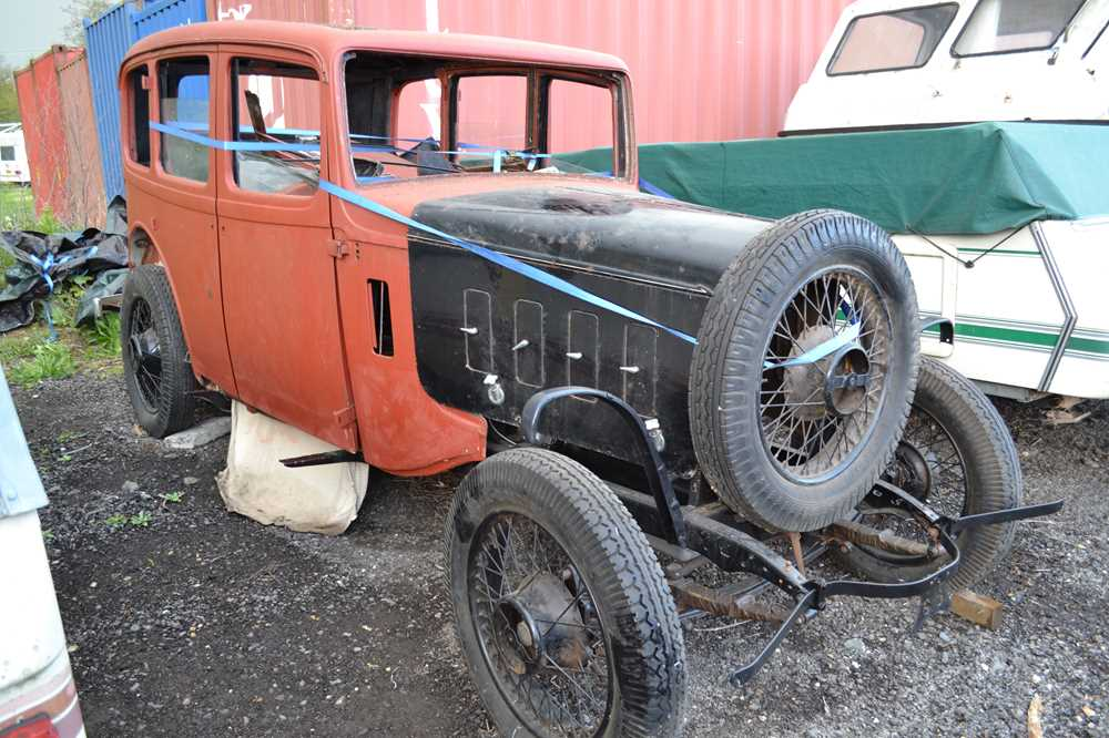 Lot 351 - 1936 Austin 12/6 Saloon