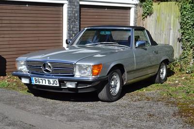 Lot 1985 Mercedes-Benz 500 SL