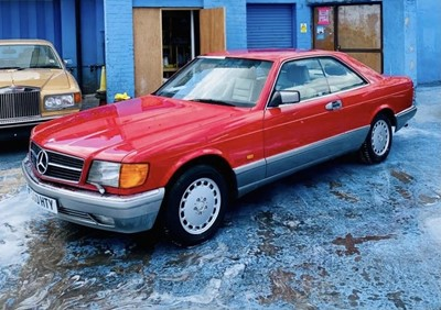 Lot 341 - 1988 Mercedes-Benz 500 SEC