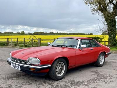 Lot 335 - 1989 Jaguar XJS