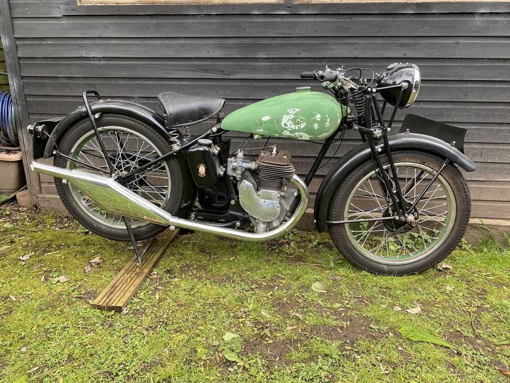Lot 25 - 1937 BSA B23 Project