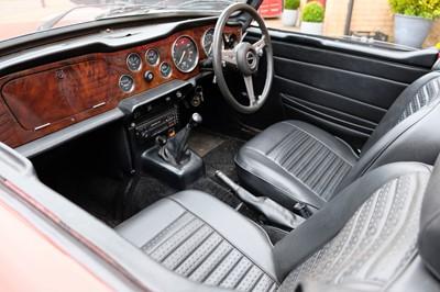 Lot 345 - 1975 Triumph TR6