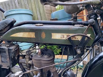 Lot 80 - 1924 BSA H25 with BSA model 7 Sidecar