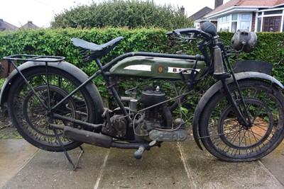 Lot 142 - 1923 BSA S23 500