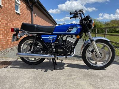 Lot 59 - 1977 Yamaha RD400