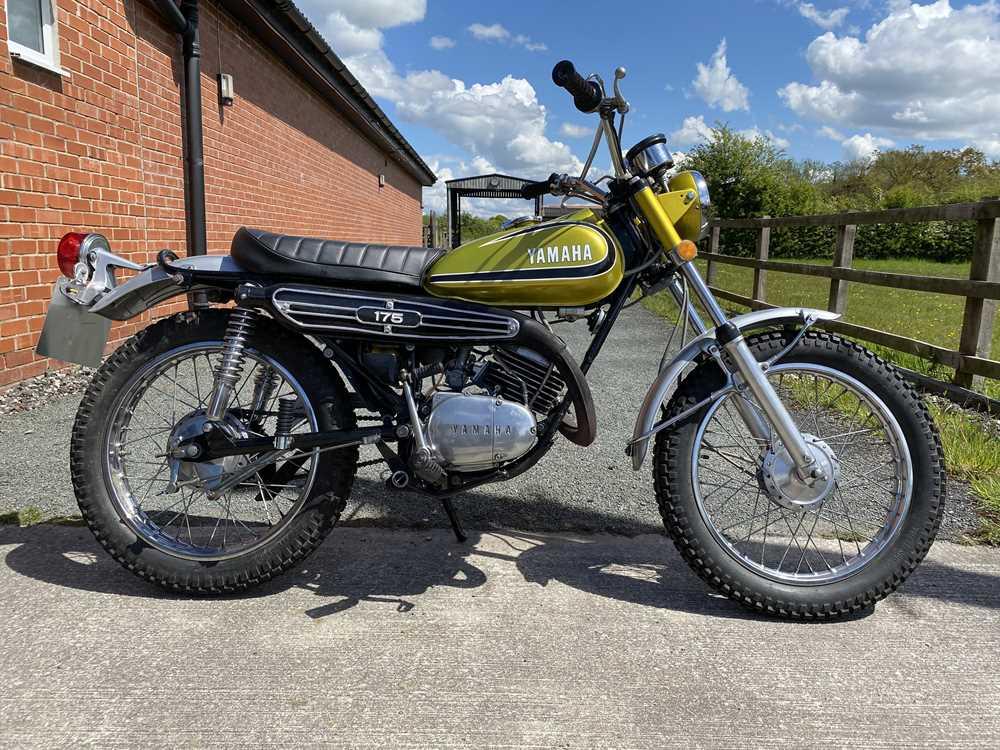 Lot 34 - 1973 Yamaha CT 175