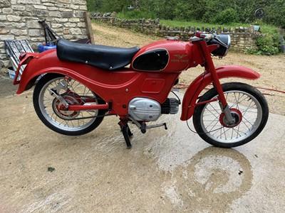Lot 100 - c.1960's Moto Guzzi Zigalo 110