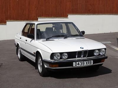 Lot 8 - 1986 BMW 525i