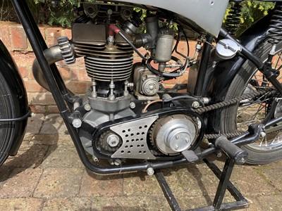 Lot 75 - 1933 New Imperial 350 Grand Prix, works 6 stud engine