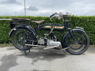 Lot 149 - 1921 BSA Model K