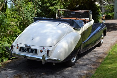 Lot 1951 Daimler DB18 Special Sports Drophead Coupe