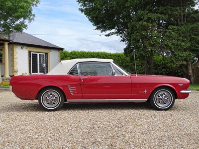 Lot 1966 Ford Mustang Convertible