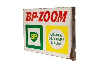 Lot 11 - BP-Zoom Enamel Sign
