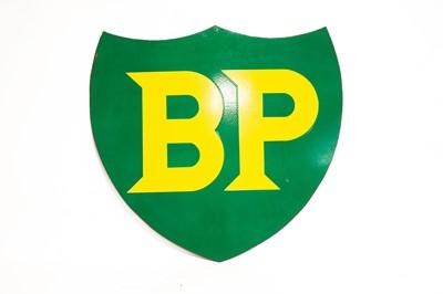 Lot 12 - BP Shield Enamel Sign