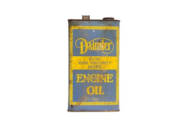 Lot 33 - Daimler and Lanchester Engine Oil Can
