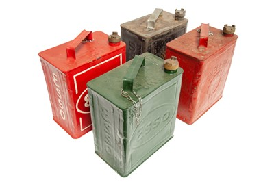 Lot 35 - Four Two-Gallon Petrol Cans