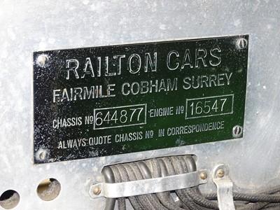 Lot 1936 Railton Eight Fairmile II Drophead Coupe