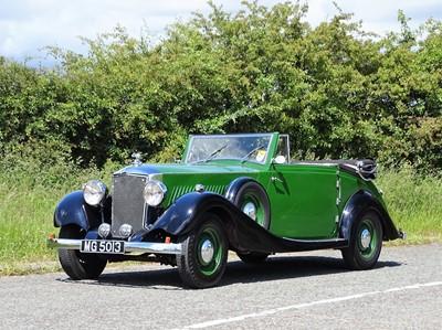 Lot 1936 Railton Eight Drophead Coupe