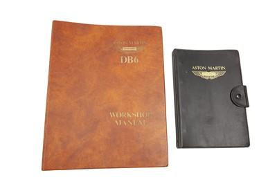 Lot 43 - Aston Martin DB6 Literature