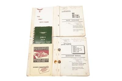 Lot 44 - Aston Martin DB2, DB2/4 and Mark III Literature