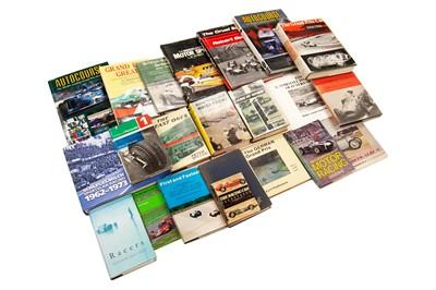 Lot 47 - Twenty-Two Titles Relating to Motor Racing