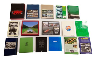Lot 49 - Sixteen Marque-Specific Reference Titles