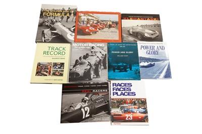 Lot 51 - Nine Hardback Titles Relating to Motor Racing