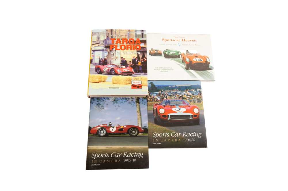 Lot 54 - Four Hardback Titles Relating to Sports Car Racing