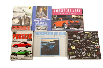 Lot 74 - Six Titles Relating to the Porsche Marque