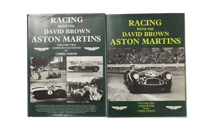 Lot 79 - Racing With The David Brown Aston Martins - Two Volume Set (Signed)