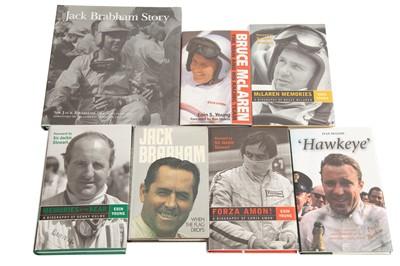 Lot 81 - Seven Antipodean Racing Driver Biography Titles