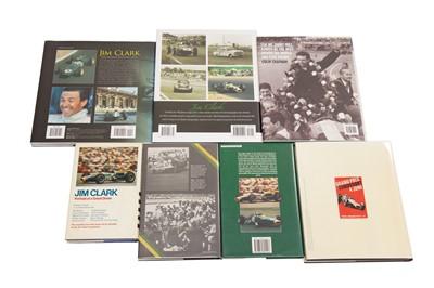 Lot 82 - Seven Titles Relating to Jim Clark