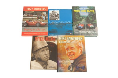 Lot 83 - Five Hardback Biography Titles - Hawthorn, Collins, Sears and Brooks