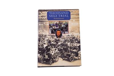 Lot 95 - 'Thousand Mile Trial' by Elizabeth Bennett