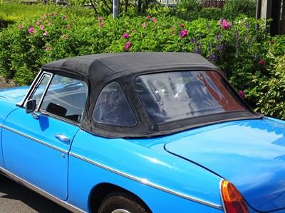 Lot 9 - 1979 MG B Roadster