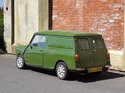 Lot 19 - 1981 Austin Morris Mini 95 Van