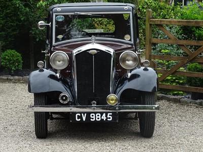 Lot 2 - 1934 Wolseley 9 Saloon