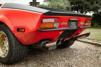 Lot 45 - 1972 De Tomaso Pantera GTS