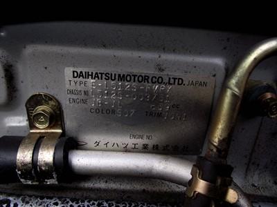 Lot 36 - 1999 Daihatsu Cuore Avanzato TR-XX R4