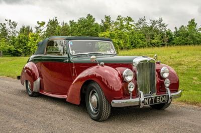 Lot 27 - 1952 Alvis TA21 Drophead Coupe